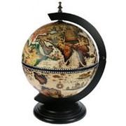 Бар глобус, настольный сфера 33 см. (JuFeng) фото