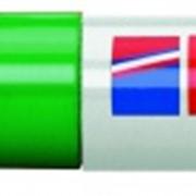 Перманентный маркер, клиновидный наконечник, 4-12 мм Зеленый фото