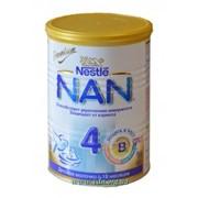 Смесь молочная NESTLE NAN №4 400г фото