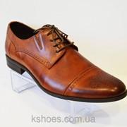 Коричневые мужские туфли Tapi 5158 фото