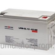 Аккумулятор гелевый LogicPower LPM-GL 12 - 65 AH фото