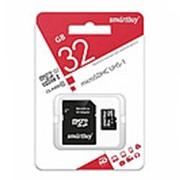 Карта памяти MicroSD 32GB SmartBuy (класс 10) фото