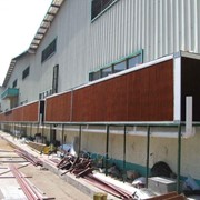 Испарительные панели для охлаждения промышленных зданий фото