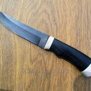 Нож Орлан из дамасской стали фото