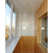 Обшивка балконов пластик 100мм фото