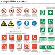 Знаки пожарной безопасности фото