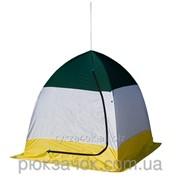 Платка зимняя зонт, для зимней рыбалки на алюминиевом каркасе СТЭК ELITE дышащая 1-местная фото