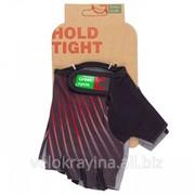 Перчатки Green Cycle NC-2348-2014 Light без пальцев черно-красные фото