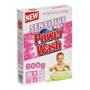 Стиральный порошок Power Wash Baby чувствительный картон 0,600 кг фото