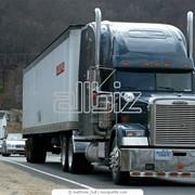 Автомобильные перевозки грузов фотография