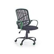 Кресло компьютерное Halmar DESSERT (зеленый/черный) фото