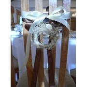 Декорация стульев фото