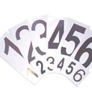 Номера для стартовых тумб фото