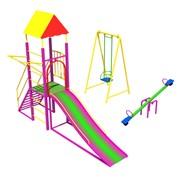 Детская игровая площадка ДИП 01-02 фото