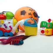 Сетка для упаковки игрушек и спорттоваров фото