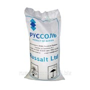 Соль высшего сорта, пищевая каменная, помол №1, NaCl - 98,93%, мешок 50 кг фото