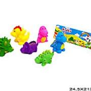 Игрушка пластизолевая пищалка динозавры 21-4298 фото