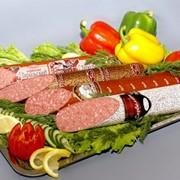 Колбасы и колбасные изделия фото
