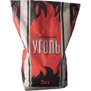 Уголь древесный 3 кг. фото