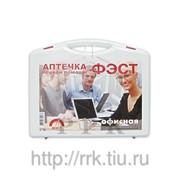 Аптечка офисная фэст (пластиковый чемоданчик) фото