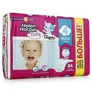 Подгузники Helen Harper Baby Maxi, №4 (7-14 кг), 84 шт фото