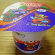 Йогурт лесная ягода фото