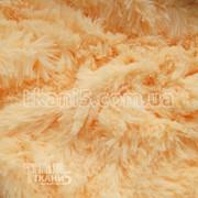 Ткань Мех травка 45 мм (персиковый) 154 фото