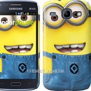 Чехол на Samsung Galaxy Core i8262 Миньоны 7 859c-88 фото