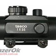 Коллиматорный прицел Tasco 1х35 с креплением 11мм и 21мм Weaver фото
