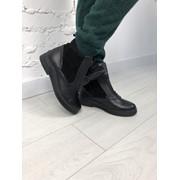 """Женские ботинки """"ЗАРА"""": зима или деми в моделях. ВВ-5-1018 фото"""
