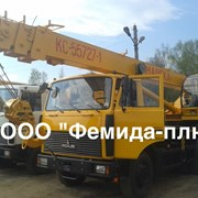 Автокран Машека КС-55727-1-11 25 тонн фото
