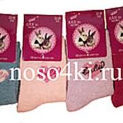 Носки детские шерстяные с ангорой фото