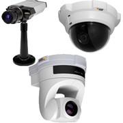 Видеокамеры систем охранного видеонаблюдения.Безопасность и защита фото