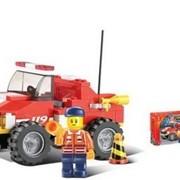 """Конструктор SLUBAN """"Пожарная спасательный грузовик"""" фото"""