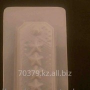 Пластиковая форма для шоколада Погоны фото