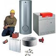 Монтаж систем отопления, водопровод, канализация фото