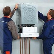 Монтаж настенного конденсационного газового мощностью до 50 кВт фото