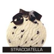 Сливочное мороженое с листочками шоколада фото