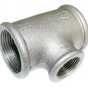 Тройник стальной Гост 17376-2001, диаметр 20 фото
