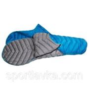 Спальный мешок Sir Joseph Double Attack II/190/-12°C Blue/Grey Left/Right 922277 фото