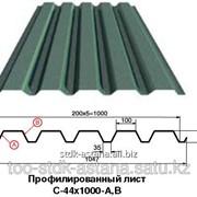 Профилированный лист C-44x1000-A,B с полимерным покрытием (Профлист) фото
