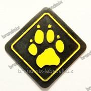 Резиновая этикетка с логотипом мод 042/309 фото
