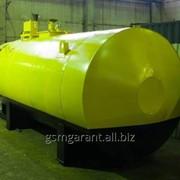 Резервуары для нефтепродуктов (стальные и пластиковые) от 3 до 100 м³ фото