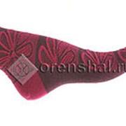 Носки женские Н304-16 бордовый фото