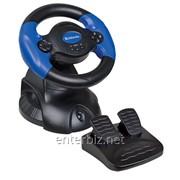 Руль Defender Adrenaline Mini LE (64391) черно-синий USB фото