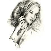 Портрет по фото графика фформат А3 (40х30) фото