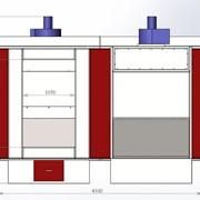 Тупиковая печь полимеризации фото