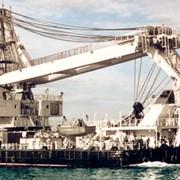 Морской плавучий самоходный полноповоротный кран проекта 15201 фото