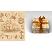 """Упаковочная бумага Миленд """"Винтаж"""", 10 листов в рулоне, 70 х 100 см., 90 г/м2, 10-05-0001 фото"""