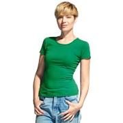 Женская футболка-стрейч StanSlimWomen 37W Зелёный S/44 фото